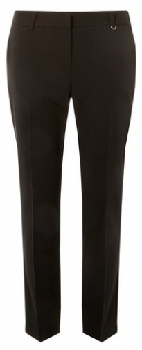 Dorothy Perkins Black Metal Fob Trim Trousers Trouser