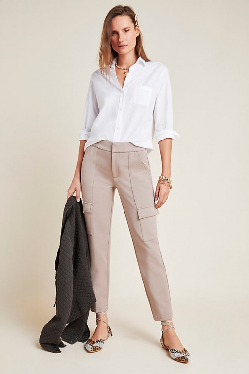 Anthropologie The Essential Cargo Trouser