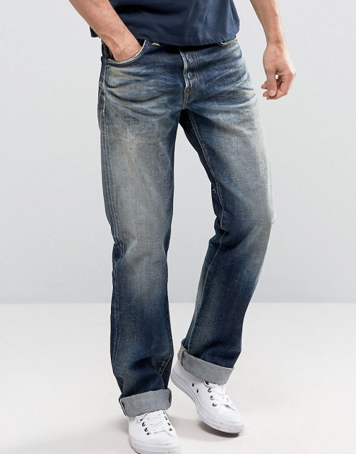 Edwin ED-39 Red Listed Selvedge Loose Fit Jeans