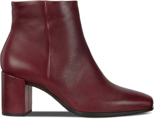 Ecco Shape 60 Womens Squared Zippered Boot
