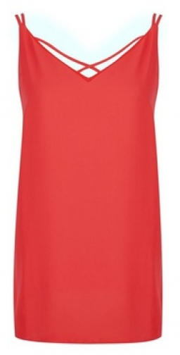 Dorothy Perkins Tall Coral Camisole Top