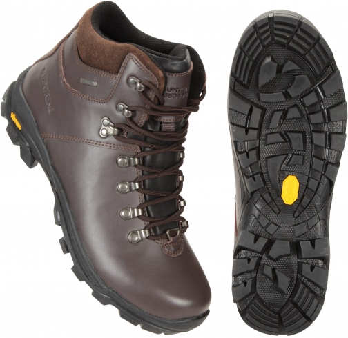 Mountain Warehouse Latitude Extreme Waterproof Vibram Womens - Brown Boot