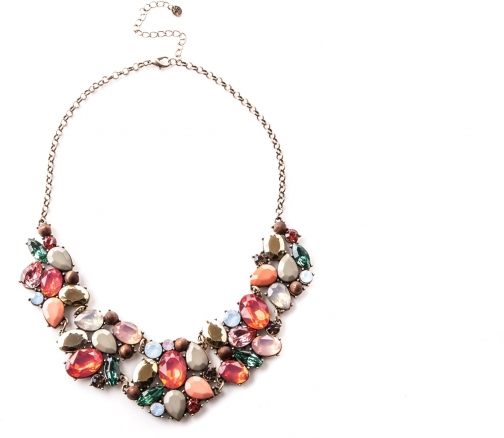 Oasis Coloured Stone Necklace