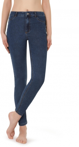 Calzedonia - Push-up And Soft Touch , M, Blue, Women Jeans