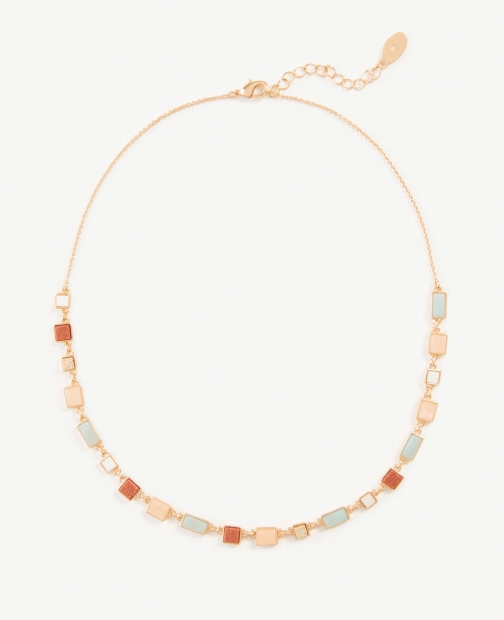 Ann Taylor Beaded Statement Necklace