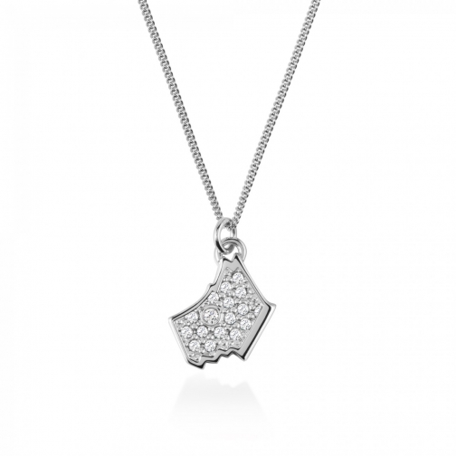 Oasis London Love Radley Silver Necklace