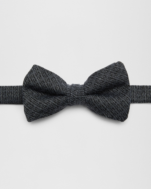 Ted Baker Textured Charcoal Bow Tie