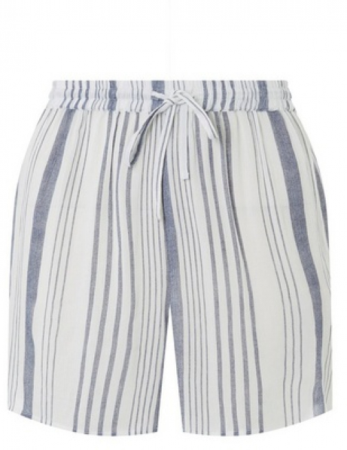 Dorothy Perkins Dp Beach Navy And White Striped Beach Short