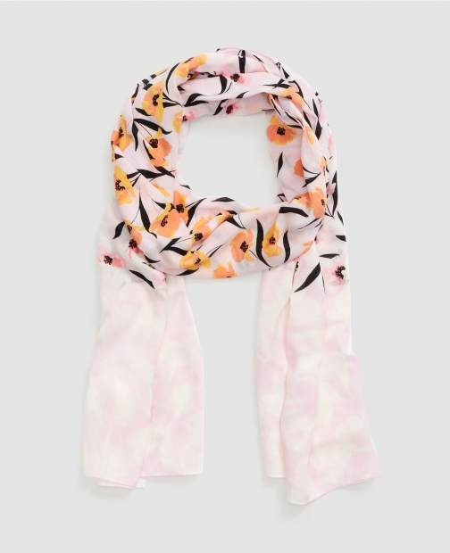 Ann Taylor Factory Floral Scarf