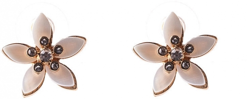 Oasis Shell Flower Studs Shoes