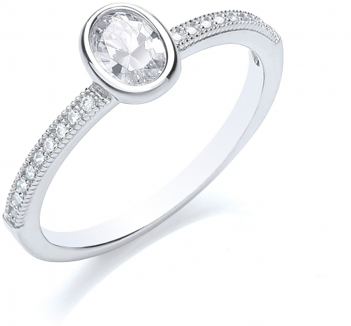 Bouton Stacker Oval Ring