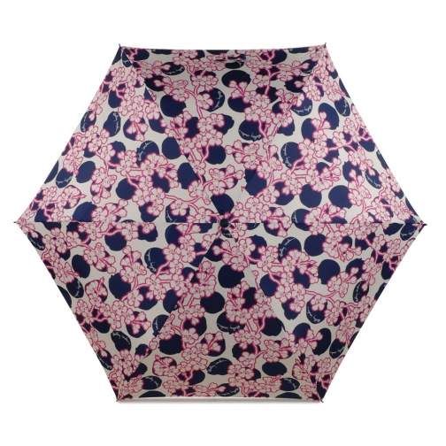 Radley Blossom Spot Telescopic Mini Umbrella