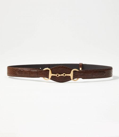 Loft Horsebit Buckle Belt