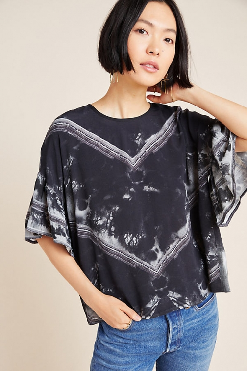 Conditions Apply Viera Dyed Blouse