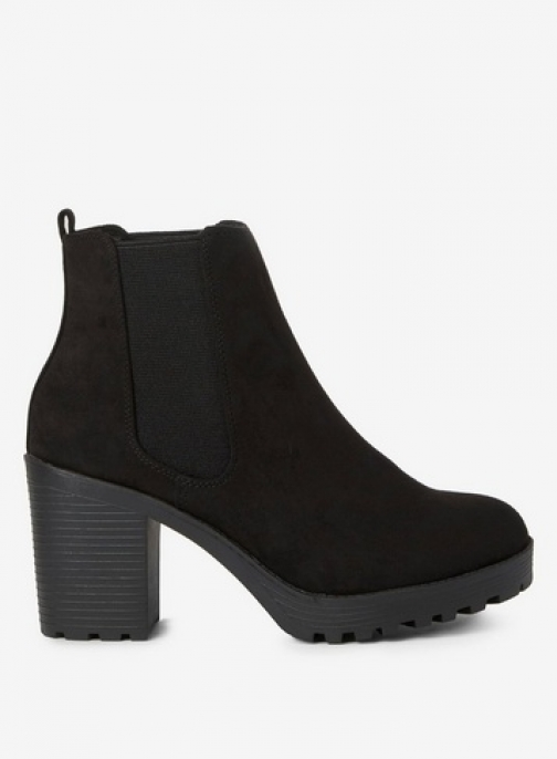 Dorothy Perkins Womens Wide Fit Black 'Ainsley' - Black, Black Ankle Boot