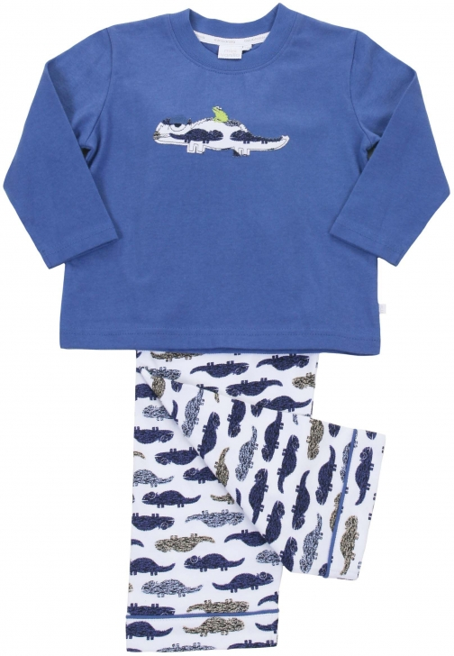 House Of Fraser Mini Vanilla Boys Long Sleeve Lounge Pyjama