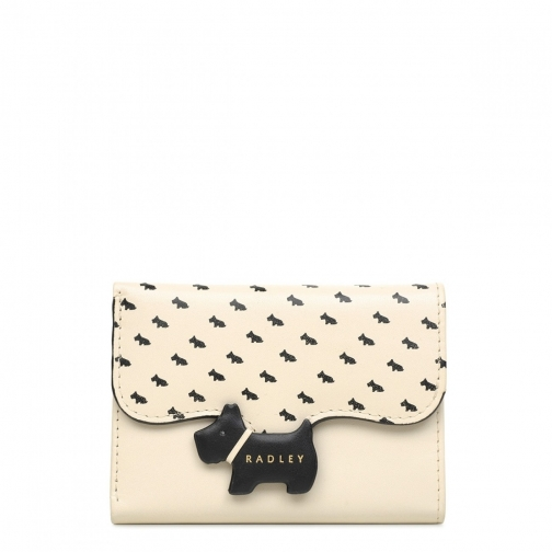 Radley Crest - Print Small Trifold Purse