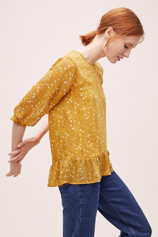 Lolly's Laundry Jenny Printed Blouse