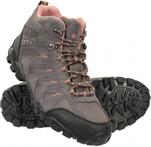 Mountain Warehouse Belfour Waterproof Womens Outdoor - Grey Boot