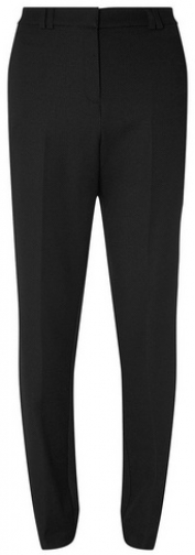 Dorothy Perkins Tall Black Pique Slim Fit Trousers Trouser