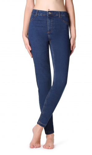 Calzedonia - Thermal , S, Blue, Women Jeans