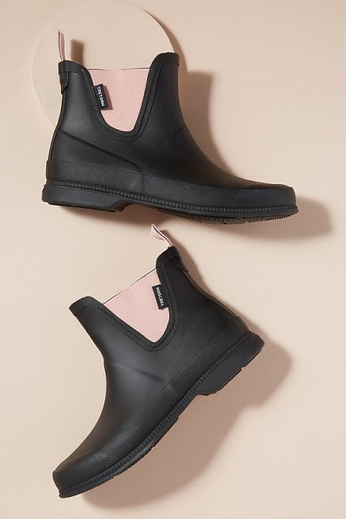 Anthropologie Tretorn Chelsea Boots Welly