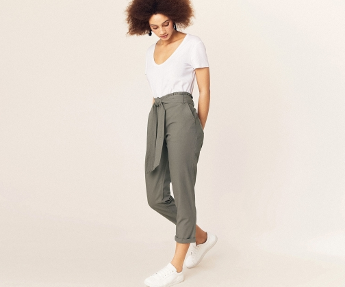 Oasis Paperbag Peg Trousers Trouser