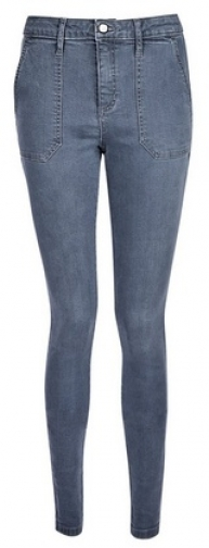Dorothy Perkins Tall Charcoal Utility 'Darcy' Jeans