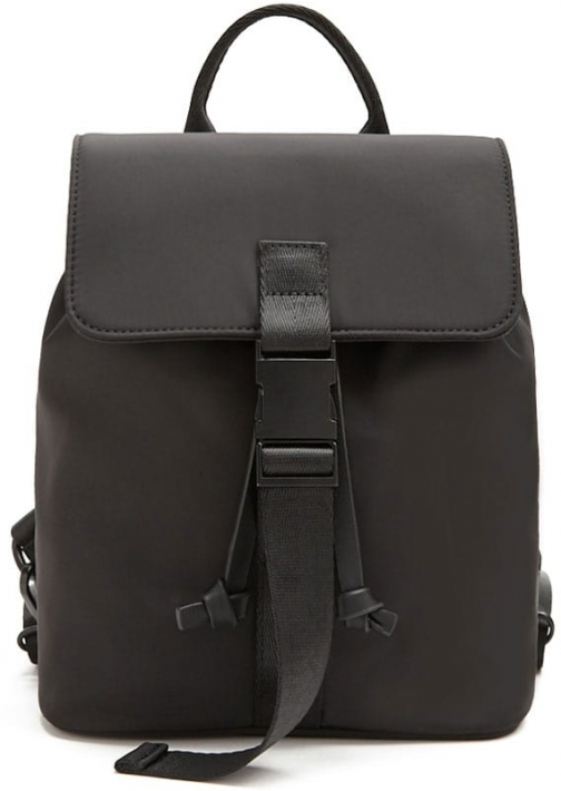 Forever21 Forever 21 Contrast Drawstring , Black Backpack