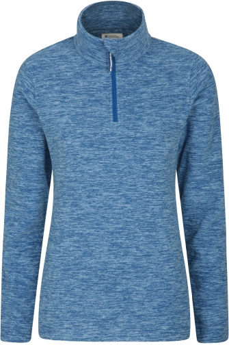 Mountain Warehouse Snowdon Melange Womens Fleece - Blue