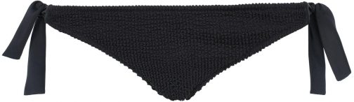 Calzedonia - Alice Crinkle Side Cheeky Bottoms, S, Black, Women Tie