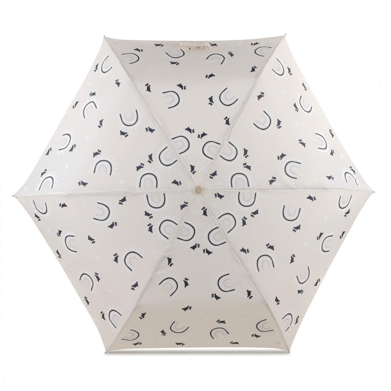 Radley London Follow Me Mini Telescopic  Umbrella