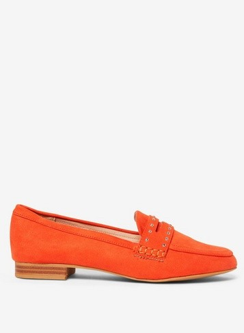 Dorothy Perkins Womens Orange Microfibre 'Limit' - Orange, Orange Loafer