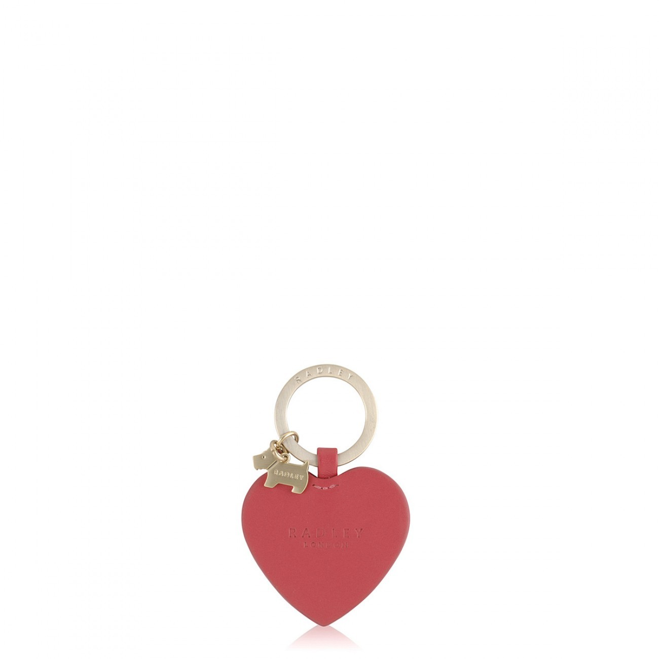 Radley London My Radley Pink Personalised Heart Keyring Accessorie