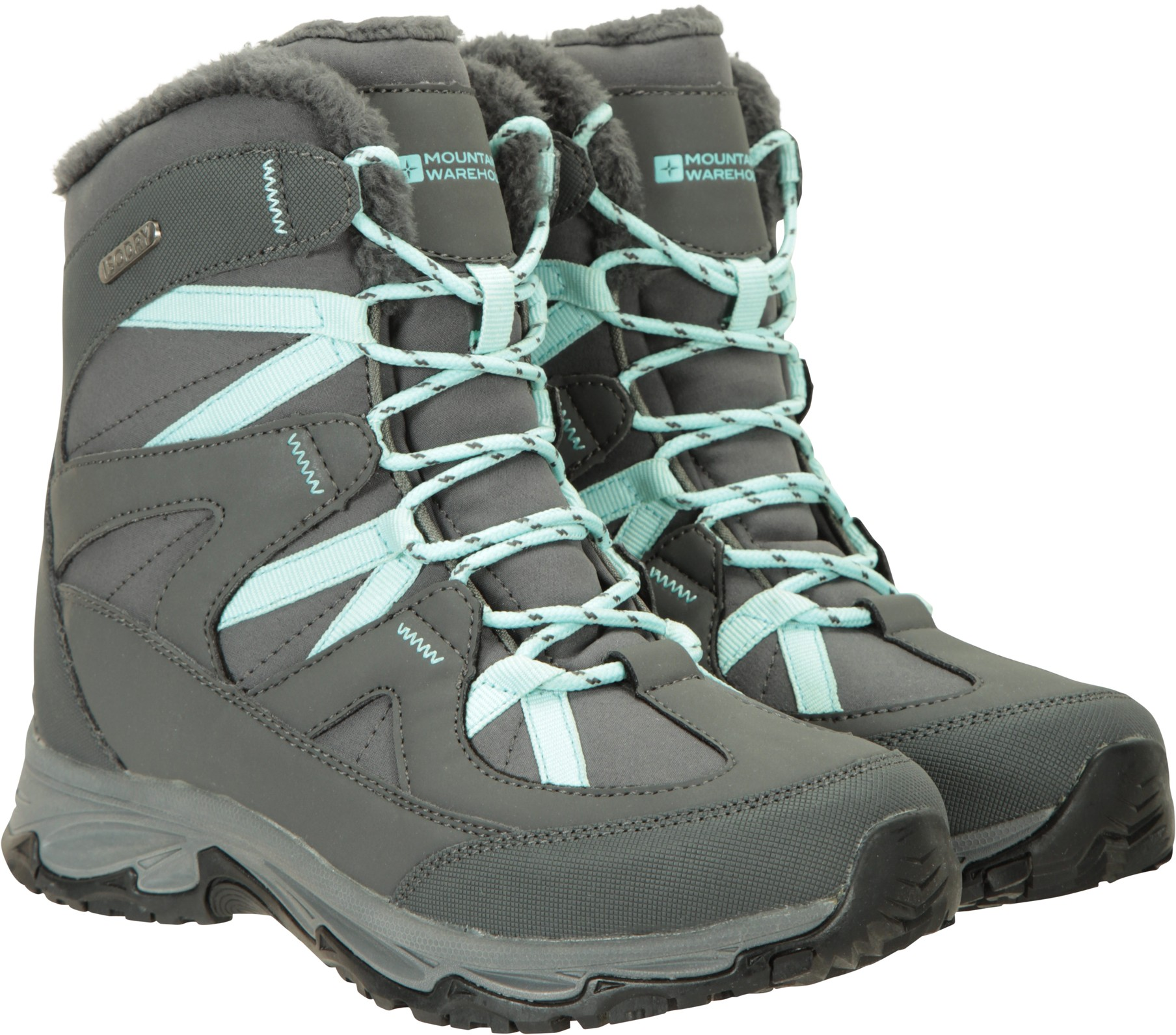 Mountain Warehouse Tahoe Softshell Womens Snowboots - Grey Snow Boot