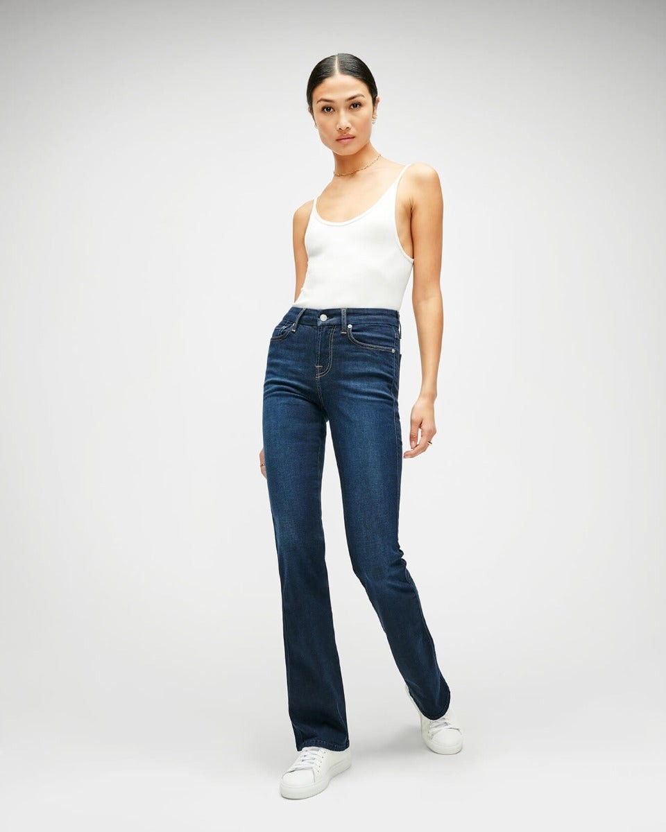 7 For All Mankind Womens Slim Illusion Kimmie Bootcut Tried And True Size: 23 Trouser