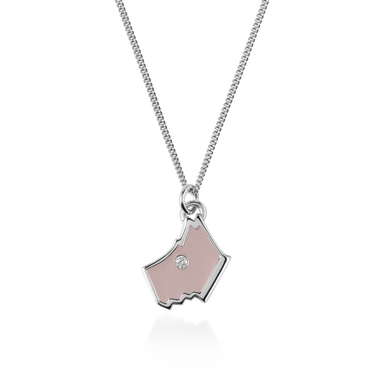 Radley London Love Radley Silver  Necklace