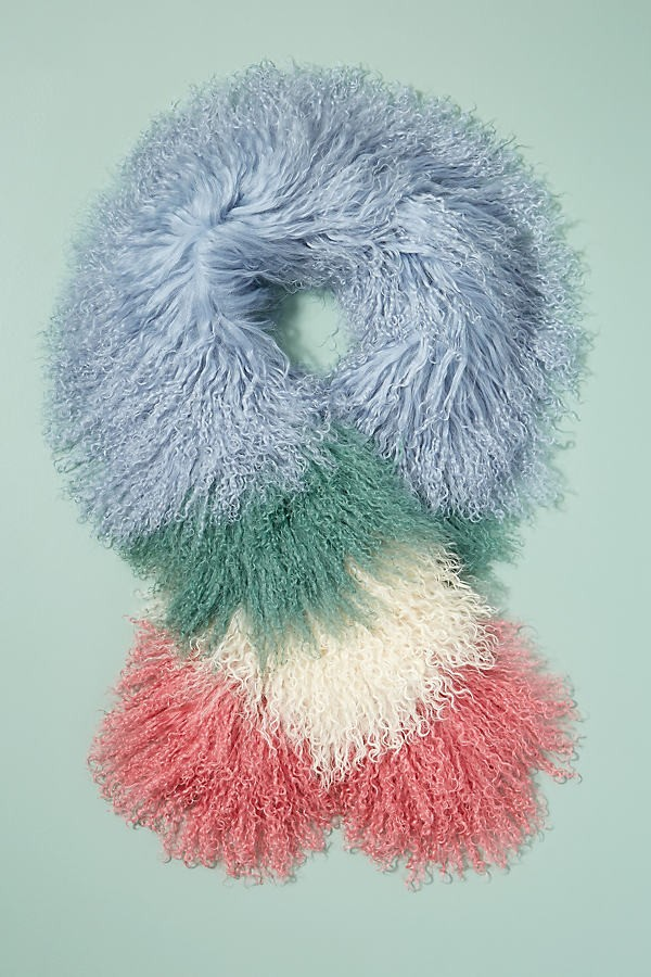 Anthropologie Colourblocked-Textured - Assorted Scarf
